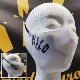 White mouth mask